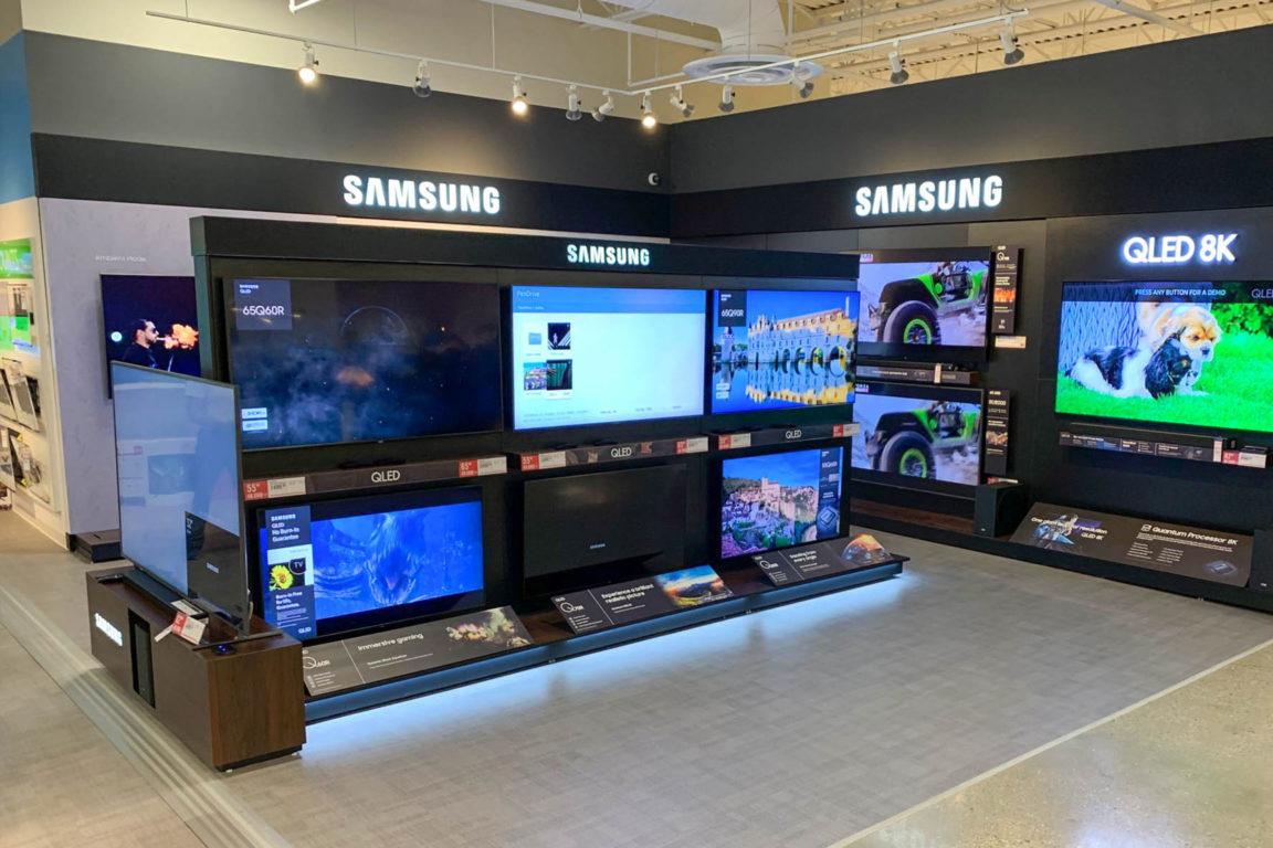Panasonic display